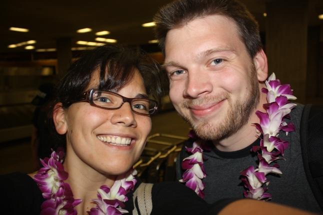 Hawaii arrival