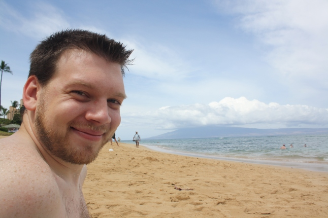 Jon on the beach