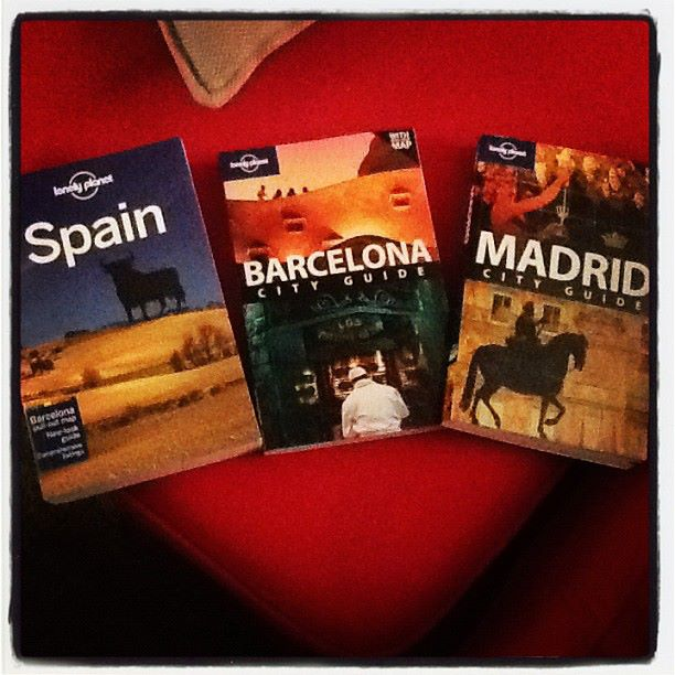Spain, Madrid, Barcelona Books