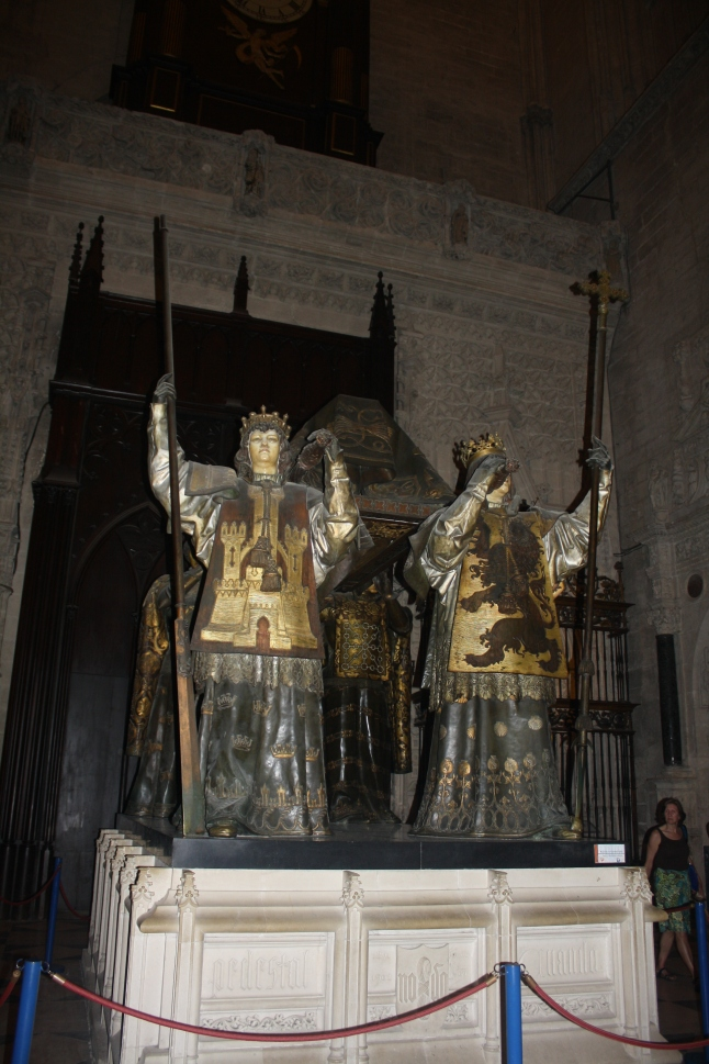 The resting place of Christopher Columbus