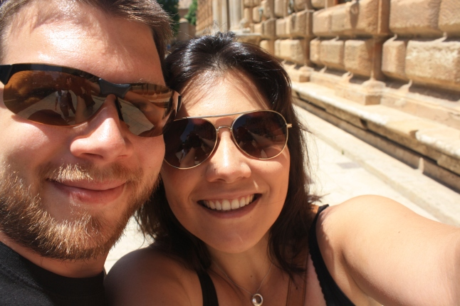 Jonathan and Erica in Spain