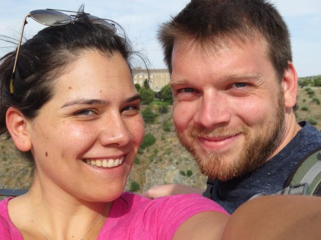 Jon and Erica in Toledo