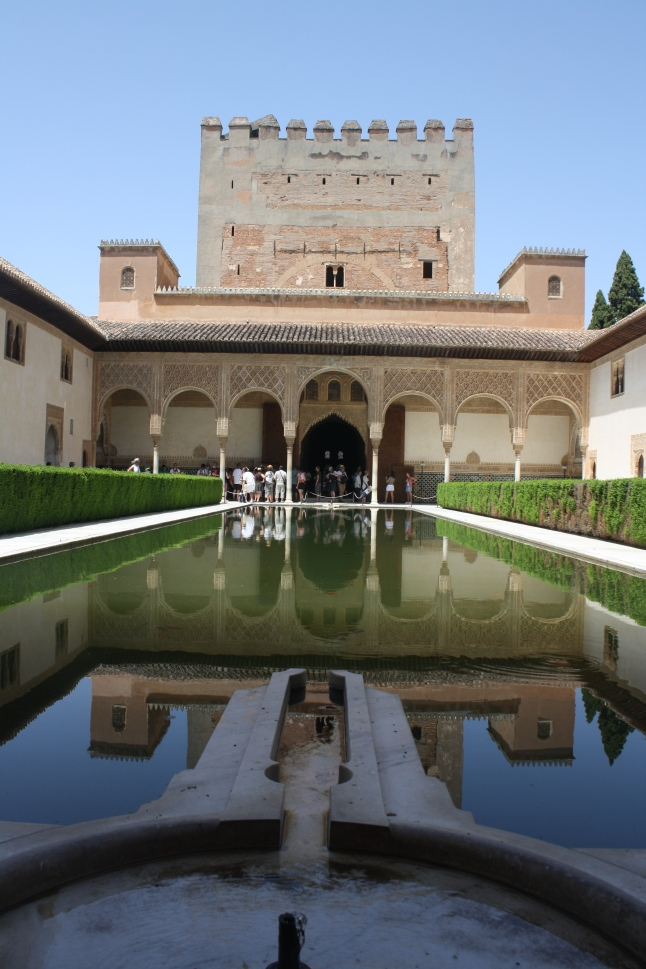 The palace in Granada