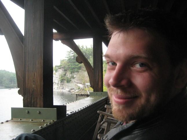 Jon at Mohonk Mountain House